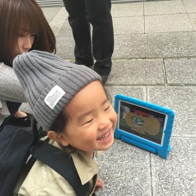 仙台空港で時間待ちをしています。あんぱんまんは人気だね。